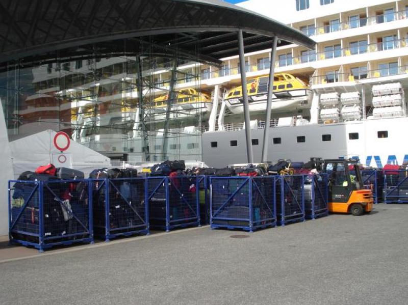 Gepäckservice Kreuzfahrten